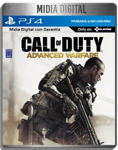 Call of Duty Advanced Warfare - Ps4 Psn - Mídia Digital Primária