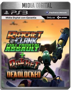 Ratchet And Clank Full Front Assault + Deadlocked - Ps3 Psn - Mídia Digital