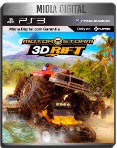 MotorStorm 3D Rift - Ps3 Psn - Mídia digital