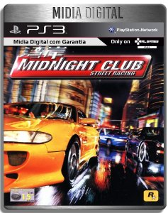Midnight Club Street Racing - PS2 Classico - Ps3 Psn - Mídia Digital