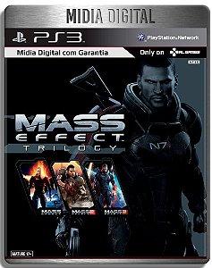 Mass Effect Trilogy- Ps3 Psn - Mídia Digital