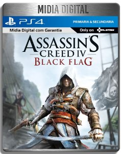 Assassins Creed Black Flag - Ps4 Psn - Mídia Digital Primaria