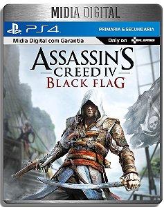 Assassins Creed Black Flag - Ps4 Psn - Mídia Digital Primaria