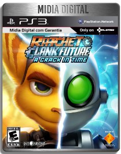 Ratchet And Clank A Crack In Time - Ps3 Psn - Mídia Digital