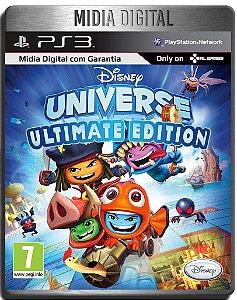 Disney Universe Ultimate Edition + Dlcs - Ps3 Psn - Midia Digital