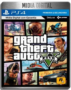 Grand Theft Auto Gta 5 V  - Ps4 Psn - Mídia Digital Primaria