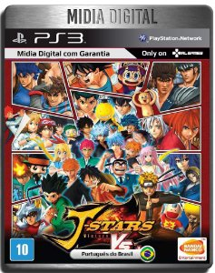 J Stars Victory Vs+ - Ps3 Psn - Mídia Digital