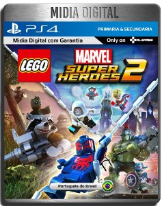 Lego Marvel Super Heroes 2 - Ps4 Psn - Midia Digital Primária