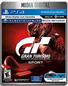 Gran Turismo Sport - Ps4 Psn - Mídia Digital Primaria