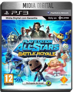 Playstation All Star Battle Royale - Ps3 Psn - Mídia Digial