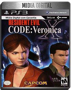 Resident Evil Code Veronica X - Ps3 Psn - Mídia Digital