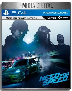 Need For Speed - Ps4 Psn - Mídia Digital Primaria
