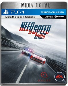 Need For Speed Rivals  - Ps4 Psn - Mídia Digital Primaria