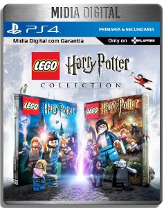 Lego Harry Potter Collection Ano 1 ao 7 - Ps4 Psn - Mídia Digital Primaria