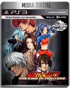 The King of Fighters Kof Neowave - Ps3 Psn - Mídia Digital