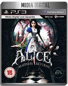 Alice Madness Returns - Ps3 Psn - Mídia Digital