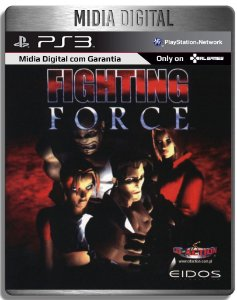 Fighting Force Classico PS1 - Ps3 Psn - Mídia Digital