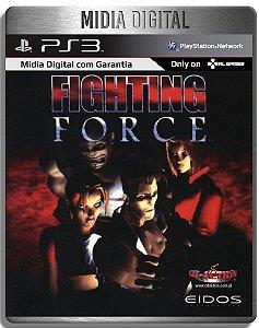 Fighting Force Classico PS1 - Ps3 Psn - Mídia Digital
