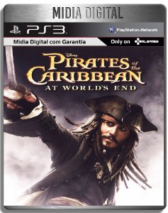 Piratas do Caibe at the world's end - PS2 Classic - Ps3 Psn - Mídia Digital
