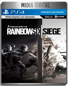 Tom Clancy's Rainbow Six Siege - PS4 Psn - Mídia Digital Primaria