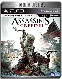 Assassins Creed 3 III - Ps3 Psn - Mídia Digital