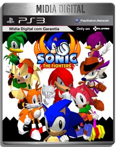 Sonic The Fighters - Ps3 Psn - Mídia Digital