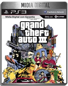 Grand Theft Auto 3 III  - Ps3 Psn - Mídia Digital