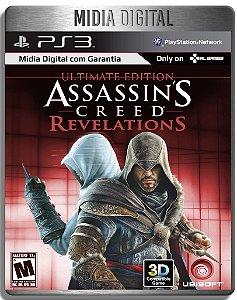 Assassins Creed Revelations Ultimate Edition + Dlcs - Ps3 Psn - Mídia Digital