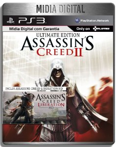 Assassins Creed 2 Ultimate + Assassins Creed Liberation - Ps3 Psn - Mídia Digital