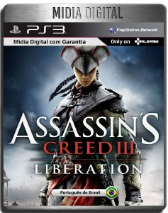 Assassins Creed Liberation HD - Ps3 Psn - Mídia Digital