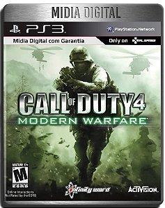 Call of Duty 4 Modern Warfare + Variety Map Pack - Ps3 Psn - Mídia Digital