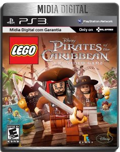 Lego Piratas do Caribe - Ps3 Psn - Mídia Digital