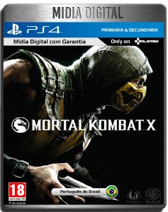 Mortal Kombat X - Ps4 Psn - Mídia Digital Primária