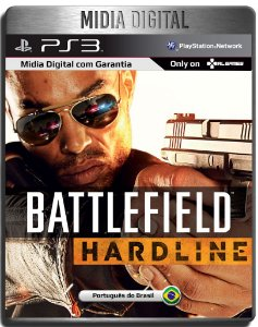 Battlefield BF Hardline Dublado - Ps3 Psn - Mídia Digital