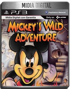 Mickey's Wild Adventure - Ps3 Psn - Mídia Digital