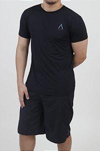 Camiseta Manga Curta Adulto Preta-Avenues