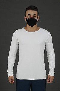 Máscara Knit Preta Adulto