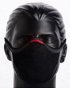 Máscara Knit Preta - Campanha Sou do Esporte