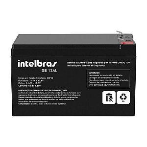 Bateria Central Alarme Intelbras 12al Alta