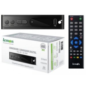 Conversor Digital Lemon Lm-300 Full hd