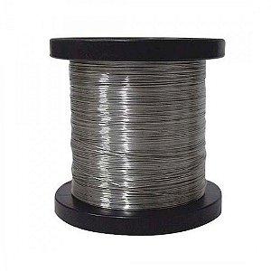 Fio De Aço Inox Para Cerca Elétrica 0,45mm