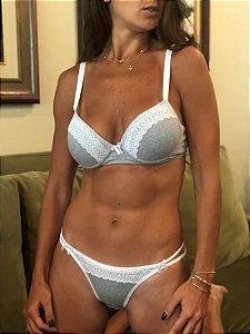 Conjunto lingerie Algodão
