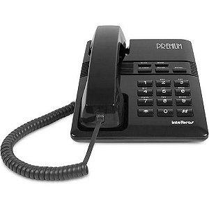 Telefone Intelbras Premium Preto