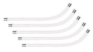 Tubo de Voz Transparente Felitron - Kit com 5 Peças