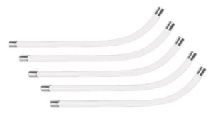Tubo de Voz Transparente Felitron para headset USB Multimidia Stile e Epko Series - Kit com 5 Peças