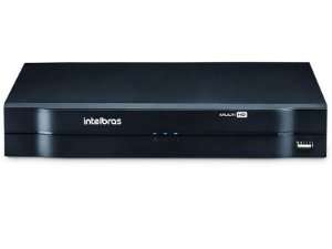 Gravador de video Stand Alone DVR Intelbras Multi HD 4 canais - MHDX 1004 - HDCVI - HDTVI - AHD - ANALOGICA - IP