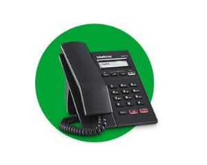 Telefone Ip Tip 125 Lite Intelbras Sip Voip com fonte