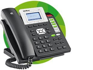 Telefone Ip Tip 210 Intelbras Hd Sip Voip Poe com fonte