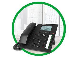 Telefone Ip Tip 425 Intelbras Hd Sip Voip Poe com fonte