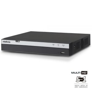 Gravador de video DVR Multi HD 4 canais FULL HD -  Intelbras MHDX 3004 - HDCVI - HDTVI - AHD - ANALOGICA - IP